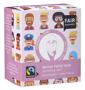 FAIR SQUARED Apricot Facial Soap Sensitive -  2x80gr. - Fair Squared