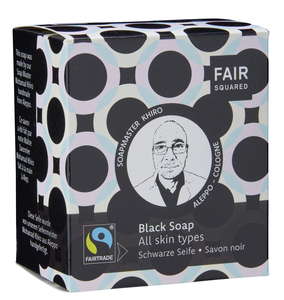 FAIR SQUARED Black Facial Soap  - 2x80gr. - Fair Squared
