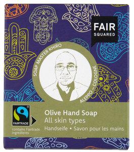 FAIR SQUARED Handsoap Fatima Olive 2x80gr. - Fair Squared