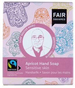 FAIR SQUARED Handsoap Fatima Apricot 2x80gr. - Fair Squared