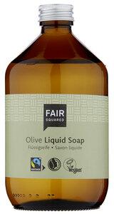 FAIR SQUARED Liquid Soap Olive 500ml ZERO WASTE - Fair Squared