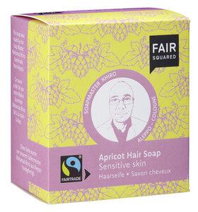FAIR SQUARED Apricot Hair Soap Sensitive Skin -  2x80gr. - Fair Squared