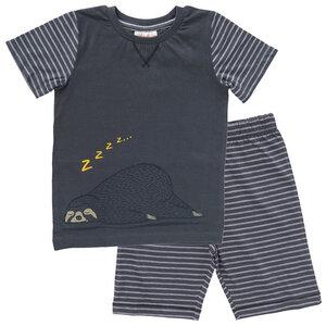 People Wear Organic Jungen Sommer-Pyjama reine Bio-Baumwolle - People Wear Organic