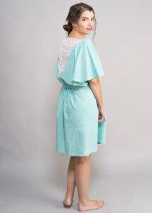 One Size Kleid mit Spitze im Rücken - Green Size
