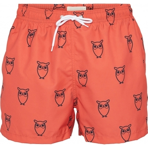 Bademode - Swimshorts - BAY all-over owl swimshorts - GRS/Vegan - KnowledgeCotton Apparel