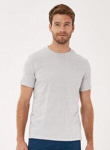 T-Shirt aus Bio-Baumwolle in Jacquard-Struktur - ORGANICATION