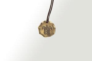 Curió Messing Halsband Ø25 verschiedene Designs (Necklace) - Curió Dobrão