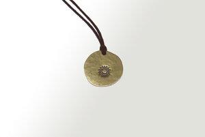 Curió Messing Halsband Ø32 verschiedene Designs (Necklace) - Curió Dobrão