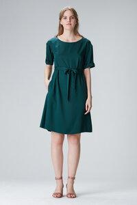 """Kleid mit Ärmel """"EDDA"""" aus Tencel - Flowmance"""