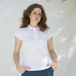 Recyceltes Poloshirt für Frauen aus Baumwolle - Rita - Rifò - Circular Fashion