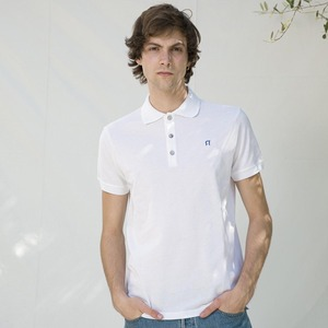 Upgecyceltes Poloshirt für Herren aus Baumwolle Felice - Rifò - Circular Fashion