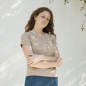 Recyceltes T-Shirt für Frauen aus Baumwolle - Marie - Rifò - Circular Fashion