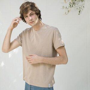 Recyceltes T-Shirt für Herren aus Baumwolle Emilio - Rifò - Circular Fashion