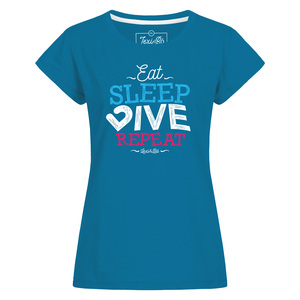 Eat. Sleep. Dive. Repeat. Damen T-Shirt - Lexi&Bö