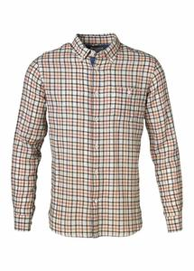 Special Weaved Checked Shirt Limoges - KnowledgeCotton Apparel