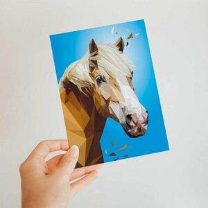 Pferd, Postkarte DIN A6 - Printe
