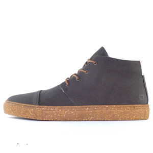 '59 Anthracite recycelte Stoff-Sneaker  - SORBAS