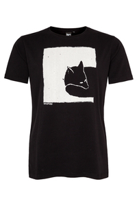 Fox in a box Men T-Shirt aus Biobaumwolle ILP06 - black - ilovemixtapes