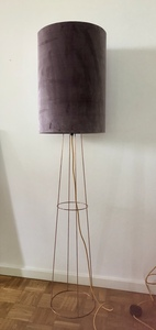 Stehleuchte Big Clone Lavendel samt - my lamp