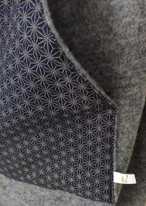 Tragecover Wollfleece grau - Madame Jordan
