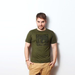 Ornate Elephant - T-Shirt Männer  - Coromandel