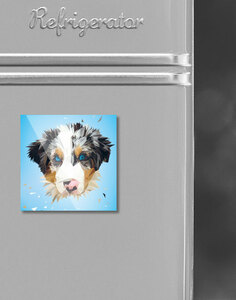 Kühlschrankmagnete Lowpoly Tiere - Printe