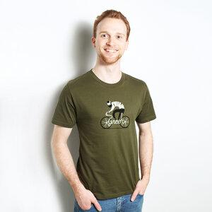 Think Green - Shirt Männer aus Bio-Baumwolle - Coromandel