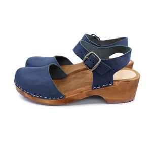 FREJA - schwedische Holz Clogs Sandale von me&myclogs - low heel - me&myClogs