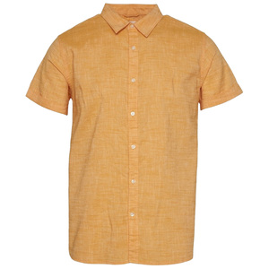 Larch Shortsleeve Linen Shirt GOTS - KnowledgeCotton Apparel