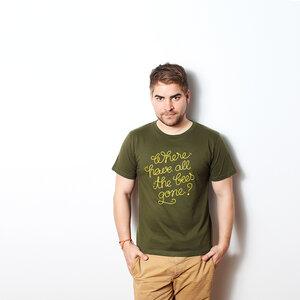 Where Have All the Bees Gone - Herrenshirt mit Print - Coromandel