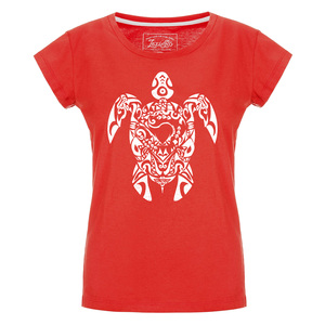 Tribal Turtle Damen T-Shirt - Lexi&Bö