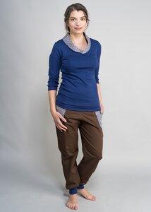 Leonie - Pullover mit Kragen - Green Size