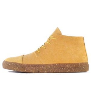 '59 Yellow recycelte Stoff-Sneaker - SORBAS