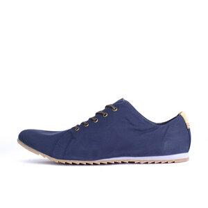 '63 veganer Sneaker aus Bio-Baumwolle Classic Blue Low-Cut - SORBAS