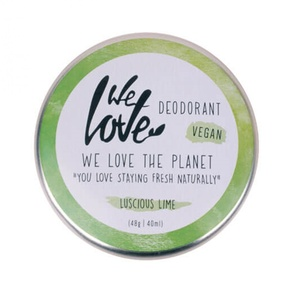 Natürliche Deocreme Luscious Lime (Vegan mit Natron) - We love the planet
