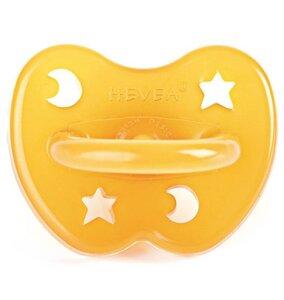Baby Schnuller Stern & Mond kiefergerecht Naturkautschuk Hevea - Hevea