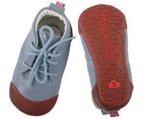 Krabbelschuhe, Barfußschuhe mit Gummisohle aus nachhaltigem Leder Modell Robbi verschiedene Farben erhältlich - Anna und Paul