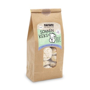 Sonnen-Keks, Bio-Knusperei f. Hunde - napani