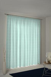 Vohang Fensterschal Little Parrot - kleine Papageien light 100 % Bio Baumwolle - Adam -Natürlich Wohnen