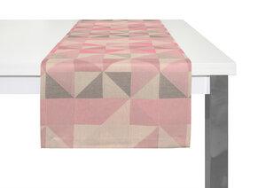 Tischläufer Bio Bel tolles Design 100 % Bio Baumwolle - Adam -Natürlich Wohnen