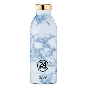 24bottles 0,5l Thermosflasche  - verschiedene Marmordesigns - 24bottles