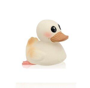 Badeente Kawan Mini weiß, gelb, pink oder mint Naturkautschuk HEVEA - Hevea