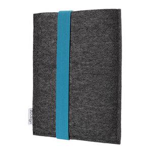 e-Book Reader Hülle COIMBRA für Tolino - VEGANer Filz - anthrazit - flat.design