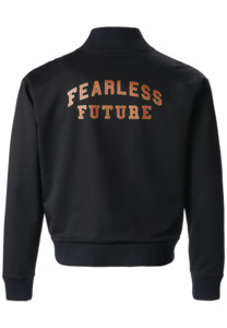 Fearless Future Bomberjacke aus Biobaumwolle, GOTS - PHYNE