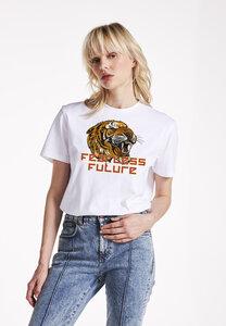 Fearless Future T-Shirt mit aus 100% Biobaumwolle - PHYNE