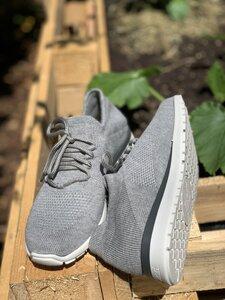 Sneaker Amy - Aktivkohle- grau - b.y.r.d.