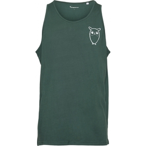 PALM Owl Chest Tank Top GOTS/Vegan - KnowledgeCotton Apparel