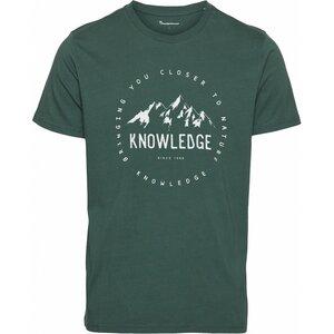 ALDER Print Mountain T-Shirt GOTS/Vegan - KnowledgeCotton Apparel