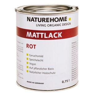 NATUREHOME Mattlack Vegan geruchsmild umweltfreundlich viele Farben - NATUREHOME