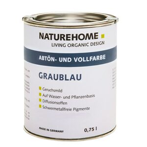 Abtön- und Volltonfarbe 0,750 L / 2,50L viele Farben - NATUREHOME